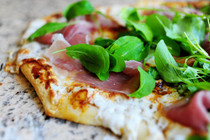 Fig Prosciutto Pizza with Arugula