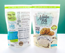 4 Bags of Nibblee Bits - Paleo, Gluten-Free, Grain-Free, Non-GMO, Vegan Chocolate Chip Cookie Mix