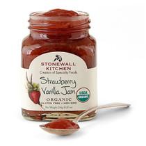 Strawberry Vanilla Jam (Organic)