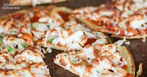 Chickpea Flour Pizza Crust