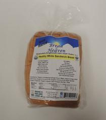 Organic Healthy White Sandwich Bread - Sliced