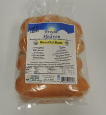 Organic Beautiful Hot Dog Buns - 8 pack
