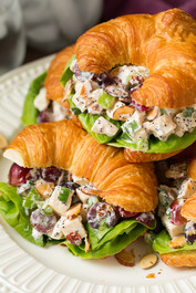 Almond Poppy Seed Chicken Salad Sandwiches