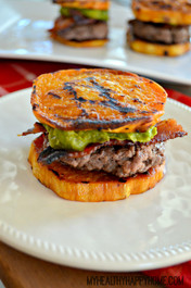 Bison Bacon Sweet Potato Sliders