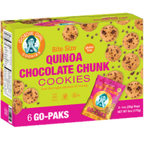 Goodie Girl Cookies™ Quinoa Chocolate Chunk Cookies 6 Count Go Paks