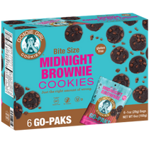 Goodie Girl Cookies™ Midnight Brownie Cookies 6 Count Go Paks