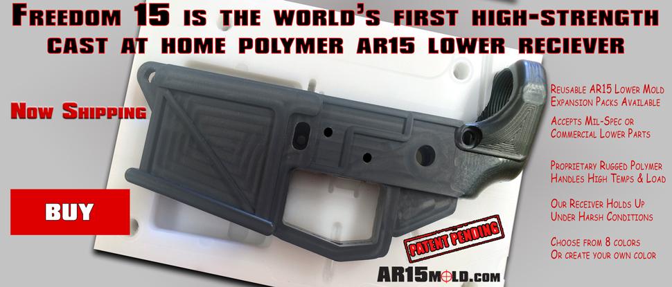 AR15Mold com - Freedom15 AR15 Mold Kit