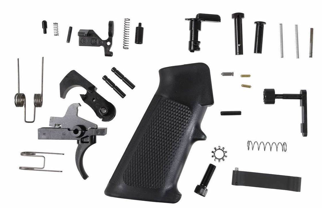 AR15 Lower Parts Kit - LPK - LRPK - Mil-Spec Everything that you need to turn your stripped AR9/AR40/AR15 Lower into a fully functional unit.  Our LRPK is the perfect way to finish off your build.   All of our parts are Mil-Spec and built to the highest standards.