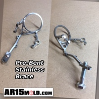 Freedom15 Mold - Pre-Bent Stainless Brace