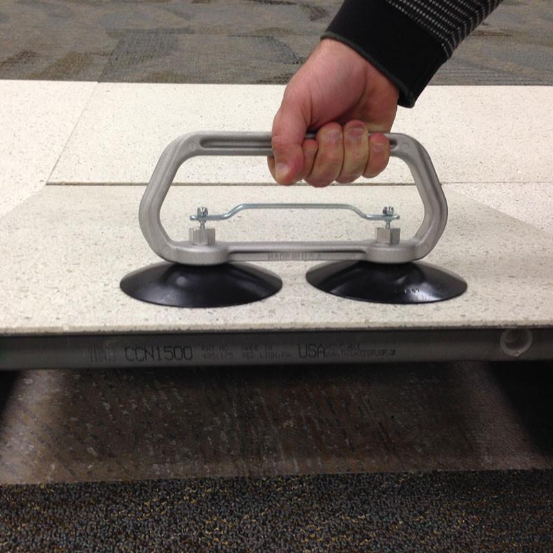5 Double Cup Raised Floor Tile Lifter Carpet Vidalondon