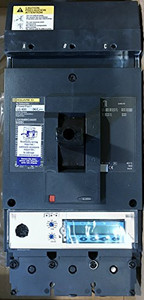Square D LGA36400CU44XENABBC PowerPact Circuit Breaker, 400A At 600V, 3-Pole