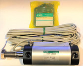 CKD SCM-FB-40B-50-TOH5-D SCM Series Double Acting Fine Speed Pneumatic Cylinder