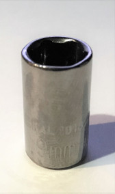 "$1 FREE S&H - KAL Tools 1018M 9mm Metric Socket, 1/4"" Drive, Made in USA - $1"