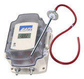 "Bapi ZPS-05-SR73-BB-ST-D ZPS Series Differential Pressure Transmitter, 0-5V, 0-2.5"" WC, With Display"