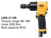 Atlas Copco LMS 27 HR-13 8434 1270 02 Heavy Duty Air Pneumatic Impact Wrench, Non Shut-Off Type