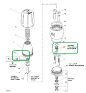 Graco Inc 220139-Modified Repair Kit for High Pressure Fluid Regulator