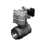 CKD Corporation FRB2V-20A-E 2 Port Air Operated Ball Valve, Fan Rotary Valve