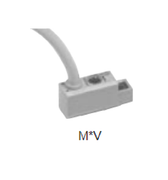 CKD Corporation M0V M Series Reed Switch For Pneumatic Cylinders, Reed 2 Wire