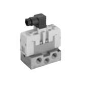 CKD Corporation PV5-8-FHG-D-3NM-A03 Solenoid Operated Pilot, 5 Port Valve