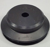 CKD Corportation PJG-50 Vacuum Pad, Bellows-Type Pad, Rubber, 50 mm Diameter