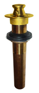 Brasstech 3201/24 Lift and Turn Drain Assembly without Overflow