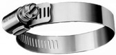 """DuPage B64HS 35510 HS Hose Clamp, 1/2"""" Band, 5/16"""" Hex Screw, 3-9/16"""" to 4-1/2"""""""