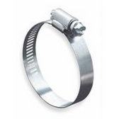 """Plumb Pak PP850-34 Hose Clamp, Stainless Steel, 1-3/4"""", With NP Screw, Box of 5"""
