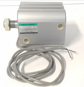 CKD CSD2-L-63-50N Pneumatic Air Cylinder, 63mm Bore, 50mm Stroke, With Switch