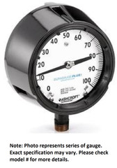 Ashcroft 45-1279-SS-02L-XC4LL-30IMV & 15 Pressure Gauge, 1/4 IN NPT Lower Conn