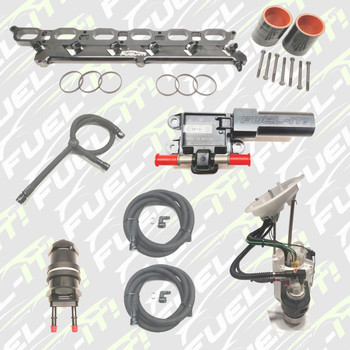Complete Stage 4 kit with port injection