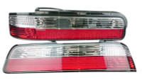 P2M Crystal Tail Light Kit for Nissan 240sx '89-'94 Coupe Non LED