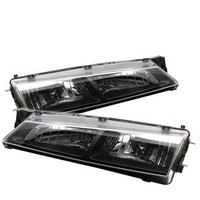 Spyder Crystal Headlights for Nissan 240sx '97-'98
