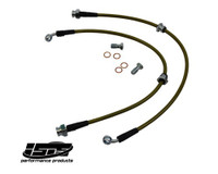 ISIS PERFORMANCE STAINLESS STEEL FRONT BRAKE LINES - NISSAN 240SX 89-98