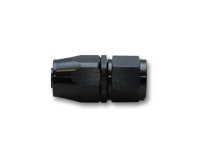 Vibrant Straight Swivel Hose End Fitting; Size: -6AN