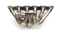 DOC Race T4 Top Mount Turbo Manifold - Nissan RB20/RB25/RB26 Tial Dual MVS 38mm WG