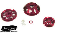 ISIS PERFORMANCE LIGHTWEIGHT PULLEYS - NISSAN SR20DET S13 - RED