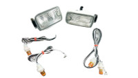P2M Dual Post LED Position LED Lights - Nissan 180SX Type-X