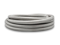 2ft Roll of Stainless Steel Braided Flex Hose; AN Size: -4; Hose ID 0.22""