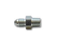 """Vibrant Straight Adapter Fitting; Size: -3AN x 1/8"""" NPT"""
