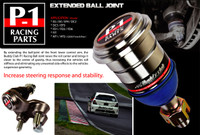 Buddy Club P1 Racing Extended Ball Joint S2000 Front w/camber adj.