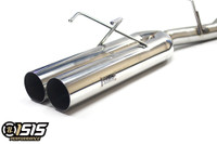 "ISR (Formerly ISIS) Performance Straight Dual 4"" Tip Exhaust - Nissan 240sx 95-98"