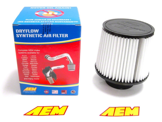 """RED UNIVERSAL 3.5/"""" BIG 9/"""" FLANGE DRY AIR FILTER FOR BMW AIR INTAKE+PIPE"""