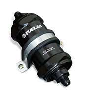 FUELAB In-Line Fuel Filter w/ Check valve 5in