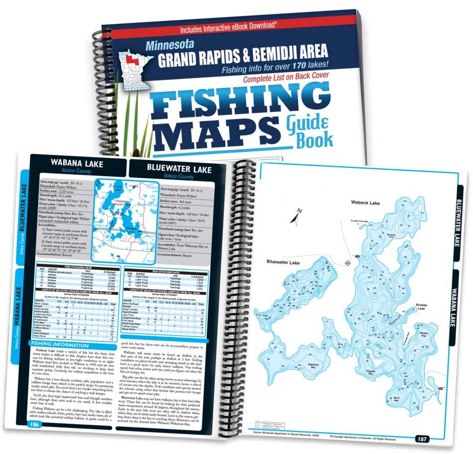 Bemidji Minnesota Map.Grand Rapids Area Mn Fishing Maps Sportsman S Connection