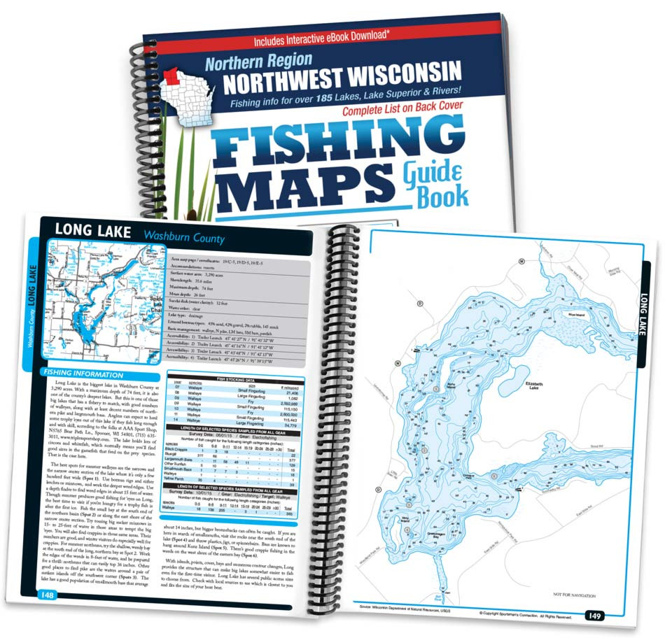 Northwest Wisconsin Fishing Maps Sportsman S Connection
