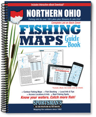 Northern Ohio Fishing Map Guide - includes contour lake maps and fishing information for over 130 lakes