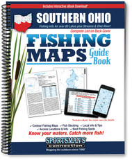 Southern Ohio Fishing Map Guide - includes contour lake maps and fishing information for over 80 lakes