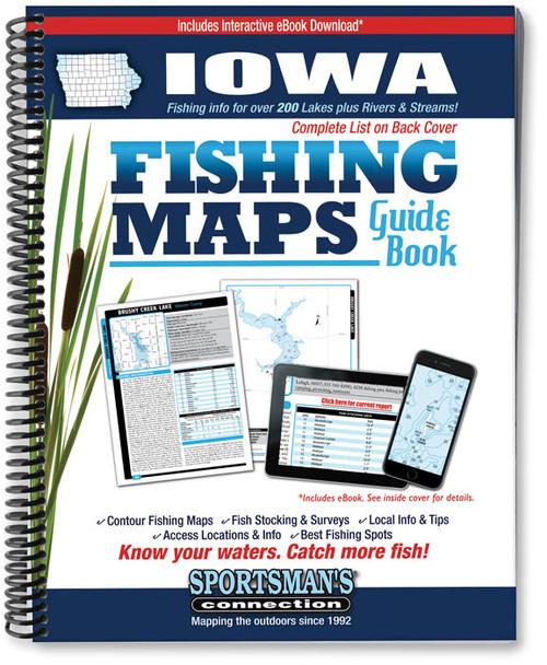 Iowa Fishing Map Guide - Print Edition