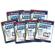 Michigan Fishing Map Guide Covers