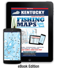 Kentucky Fishing Map Guide eBook cover